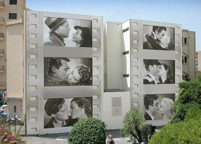 Increíbles fachadas pintadas que te harán dudar si son reales 24