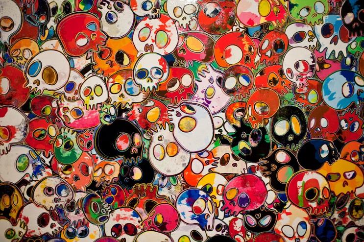 Increíbles fotos de cuerpos pintados en homenaje a Takashi Murakami 3