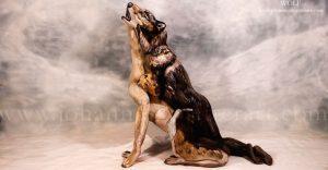 Johannes Stötter: El lobo del Bodypainting