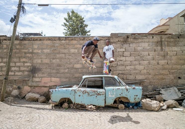 La inspiradora y joven escena del skate en Etiopía  17