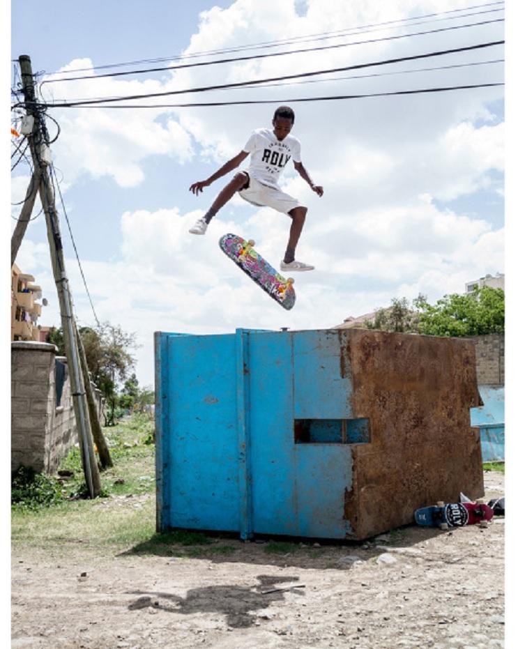 La inspiradora y joven escena del skate en Etiopía  4
