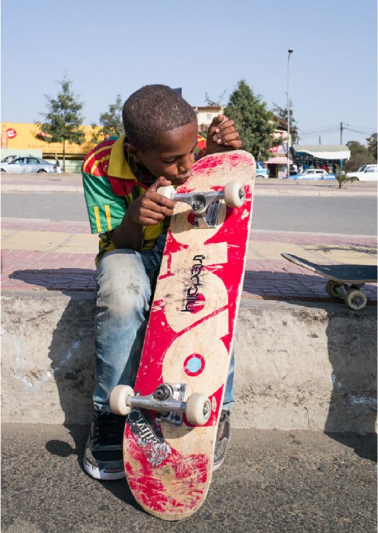 La inspiradora y joven escena del skate en Etiopía  5
