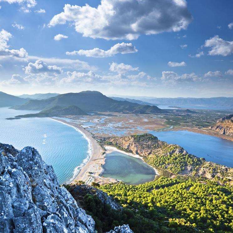 Las 10 playas más paradisiacas del mundo - Iztuzu Turquía
