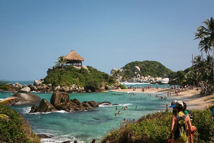 Las 10 playas más paradisiacas del mundo - Parque Tayrona Colombia