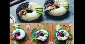 Las Sushi donuts son una realidad, descubre cómo y de qué están hechas
