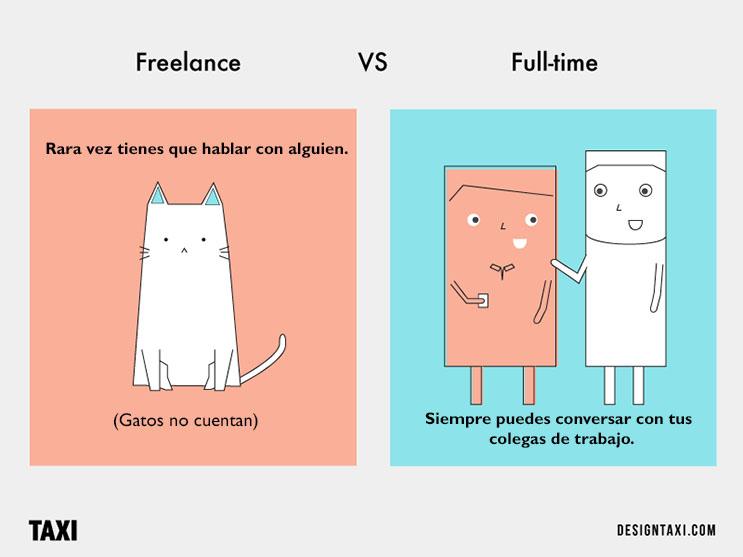 Las diferencias entre ser un diseñador freelancer y trabajar a tiempo completo 03