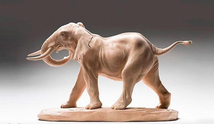 Mira los asombrosos animales que este artista crea empleando madera 14