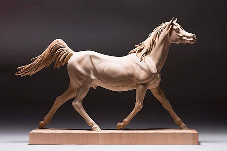 Mira los asombrosos animales que este artista crea empleando madera 15