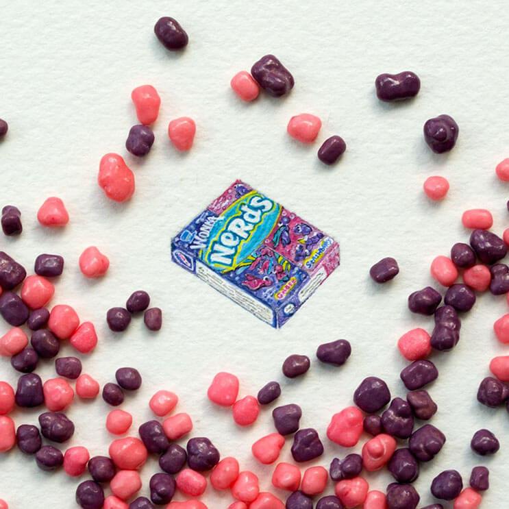 Pequeños dibujos en témperas que nos muestran la belleza de las pequeñas cosas 08