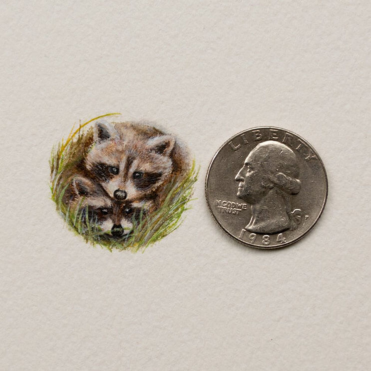 Pequeños dibujos en témperas que nos muestran la belleza de las pequeñas cosas 10