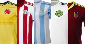 Copa América Centenario: ¿Cuál de todas las nuevas camisetas es tu favorita?