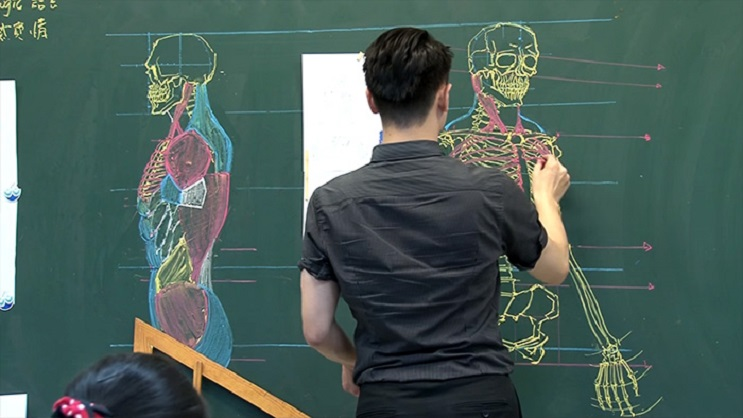 Quedarás impresionado con los espectaculares gráficos con los que enseña este profesor 02