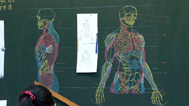 Quedarás impresionado con los espectaculares gráficos con los que enseña este profesor 03