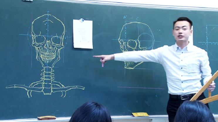 Quedarás impresionado con los espectaculares gráficos con los que enseña este profesor 05