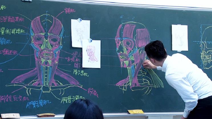 Quedarás impresionado con los espectaculares gráficos con los que enseña este profesor 06