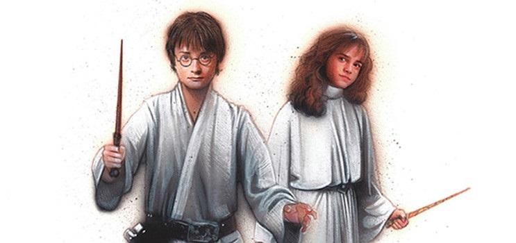 Se testigo de este loco Mashup en donde se combinan los mundos de Harry Potter y Star Wars 01
