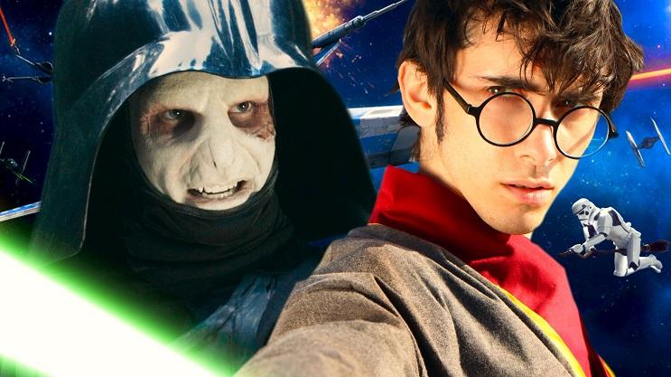 Se testigo de este loco Mashup en donde se combinan los mundos de Harry Potter y Star Wars 03
