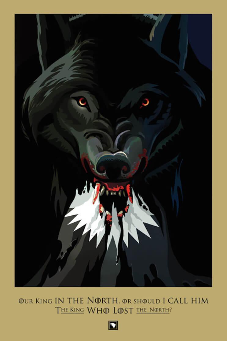 Un fanático decidió recrear todos los capítulos de Game of Thrones con estas alucinantes ilustraciones  04