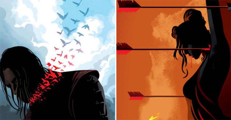 Este diseñador recreó todos los capítulos de Game of Thrones con estas alucinantes ilustraciones