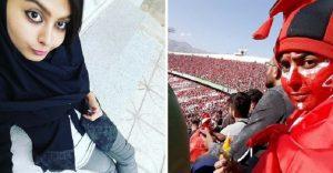 Una mujer iraní ingresó a un estadio de fútbol pese a ley que lo prohíbe