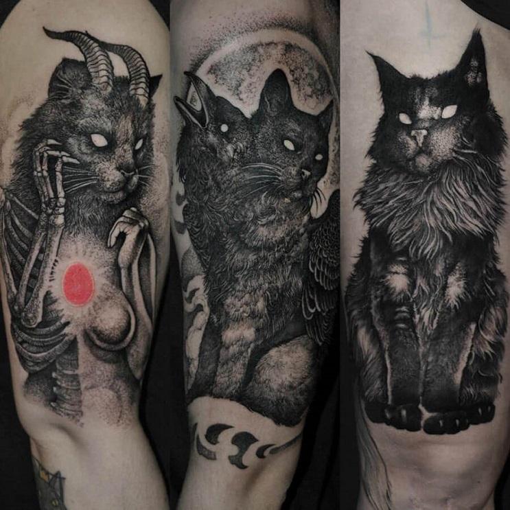 Vuélvete loco con estos radicales y monstruosos tatuajes 07
