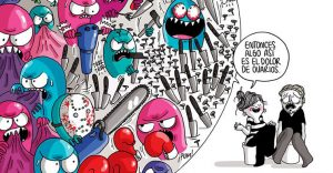 Diario de una volátil: ilustraciones que no conocen tabúes