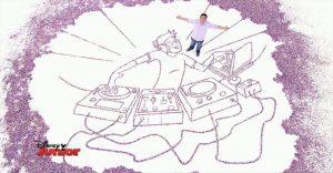 10 videos impresionantes de dibujos gigantes de Art Attack