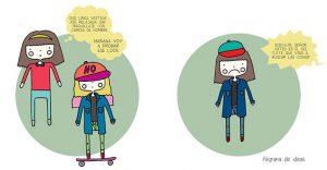 Divertidas ilustraciones reflejan las verdades incómodas de una mujer