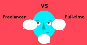 Las diferencias entre ser un freelancer y trabajar a tiempo completo