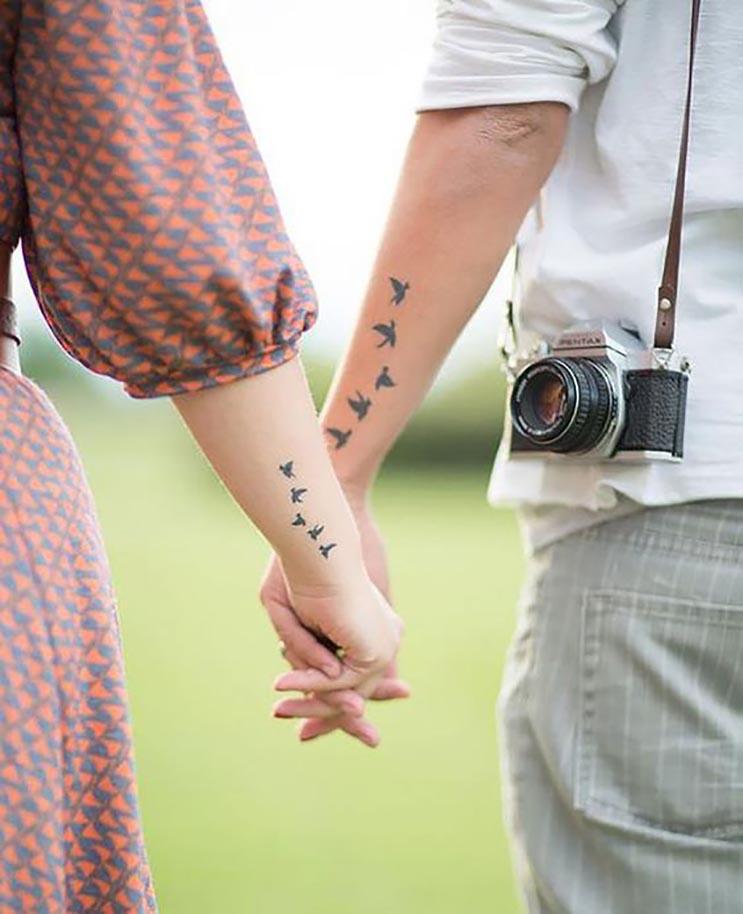 10 tatuajes que sólo las parejas enamoradas se harían 2