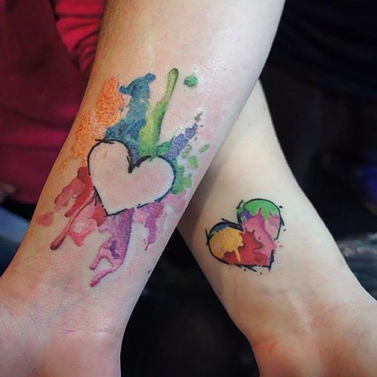10 tatuajes que sólo las parejas enamoradas se harían 6