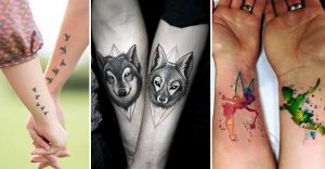 10 tatuajes que sólo las parejas enamoradas se harían