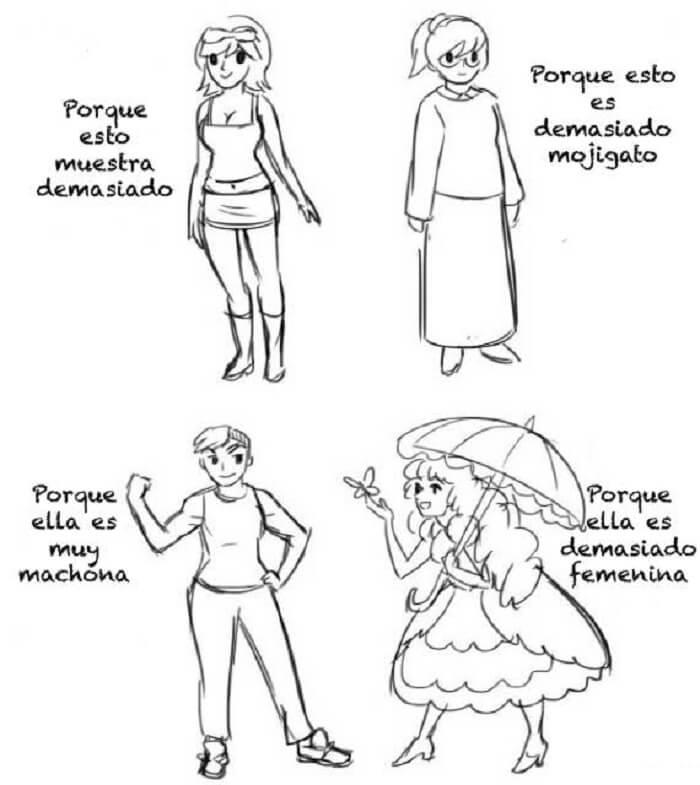 15 ilustraciones que demuestran cómo el sexismo afecta a la sociedad 9