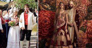 15 trajes de bodas de distintos lugares del mundo