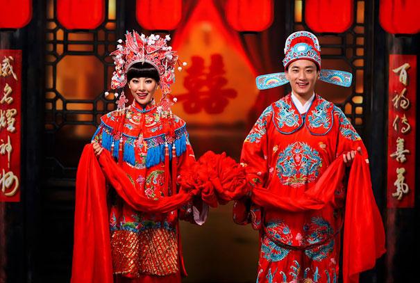 15 trajes de bodas de distintos lugares del mundo china