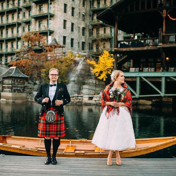 15 trajes de bodas de distintos lugares del mundo escocia