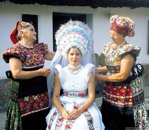 15 trajes de bodas de distintos lugares del mundo hungria