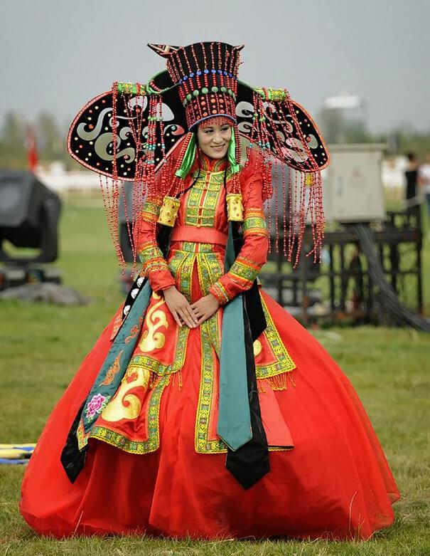15 trajes de bodas de distintos lugares del mundo mongolia