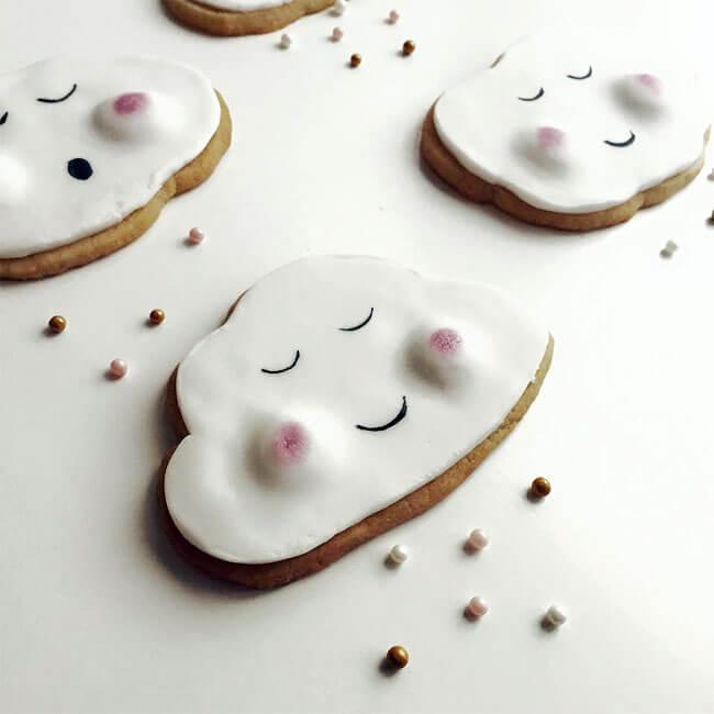 Adorables galletas con caras que pueden trasmitir el cariño que tenemos a nuestros seres queridos 67