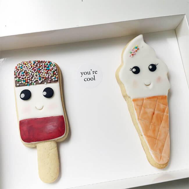 Adorables galletas con caras que pueden trasmitir el cariño que tenemos a nuestros seres queridos 8