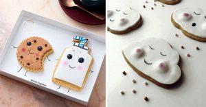 Adorables galletas con caras que pueden trasmitir el cariño que tenemos a nuestros seres queridos
