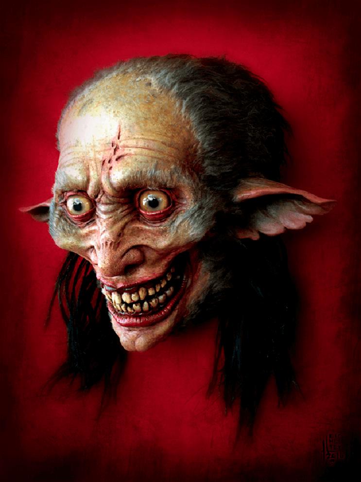Artista recrea aterrorizantes moustruos que sin duda te darán pesadillas 2