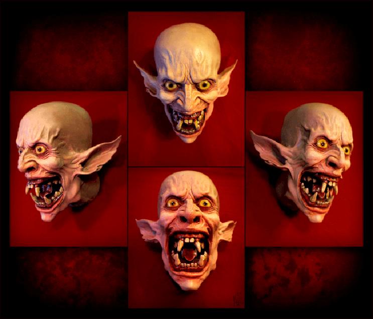 Artista recrea aterrorizantes moustruos que sin duda te darán pesadillas 3