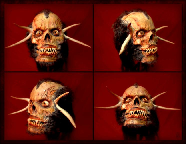 Artista recrea aterrorizantes moustruos que sin duda te darán pesadillas 5
