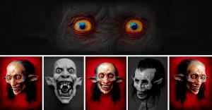 Artista recrea aterrorizantes monstruos que sin duda te darán pesadillas