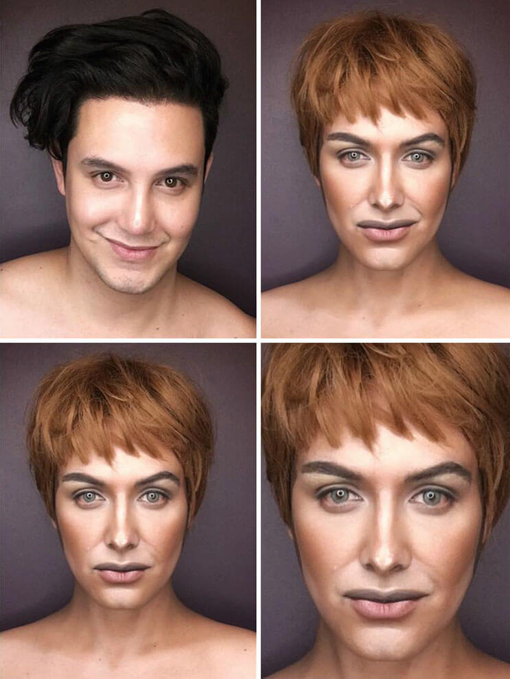 Artista se transforma en los personajes de Game Of Thrones 2
