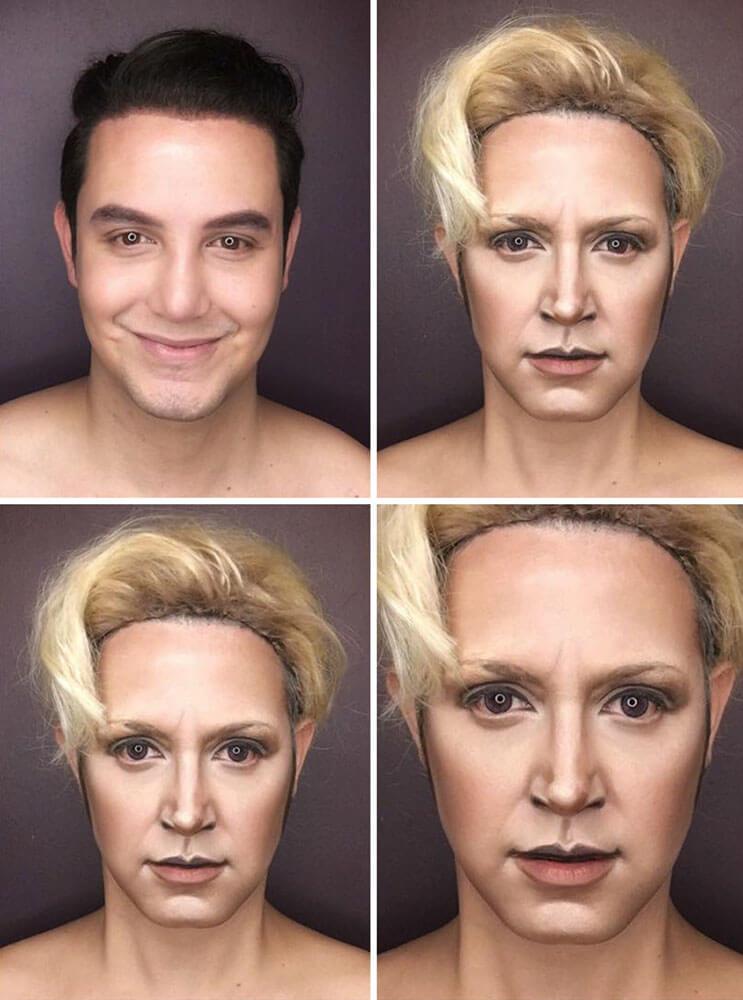 Artista se transforma en los personajes de Game Of Thrones 4