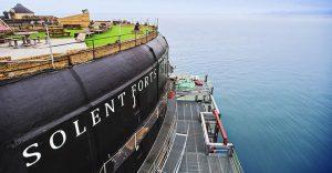 Descubre el maravilloso hotel que se esconde detrás de esta fortaleza de guerra