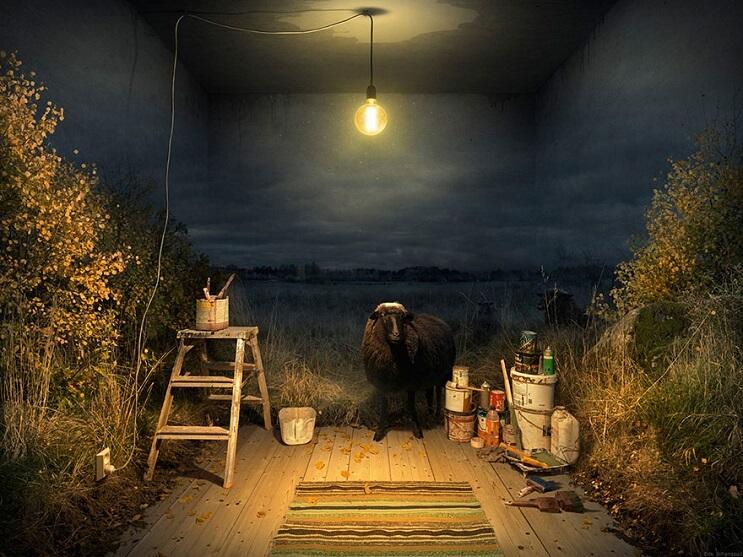 Conoce el proceso de fotomanipulación del reconocido artista Erik Johansson - Closing Out
