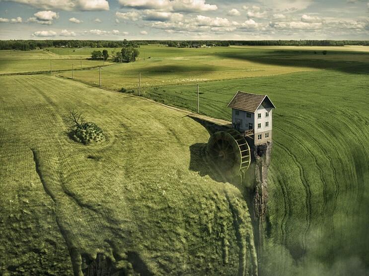 Conoce el proceso de fotomanipulación del reconocido artista Erik Johansson - Landfall